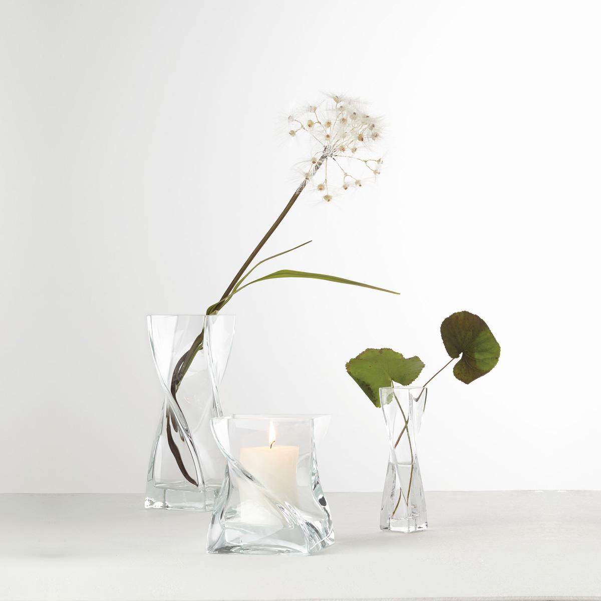 Staklena vaza Swirl 25 - 14101