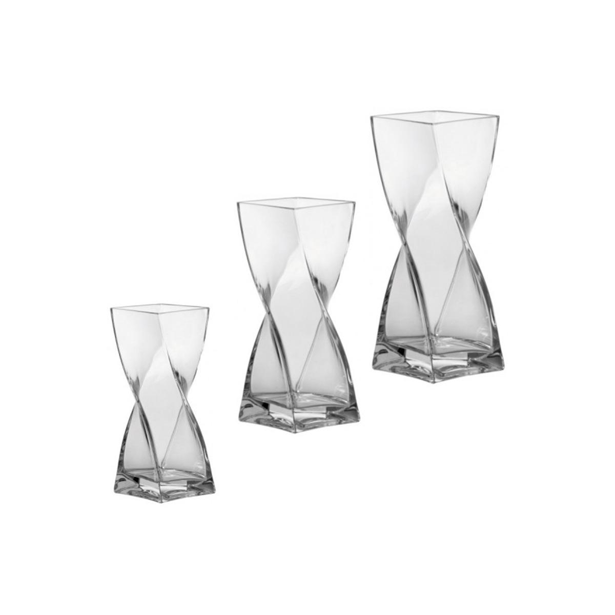 Staklena vaza Swirl 30 - 14103
