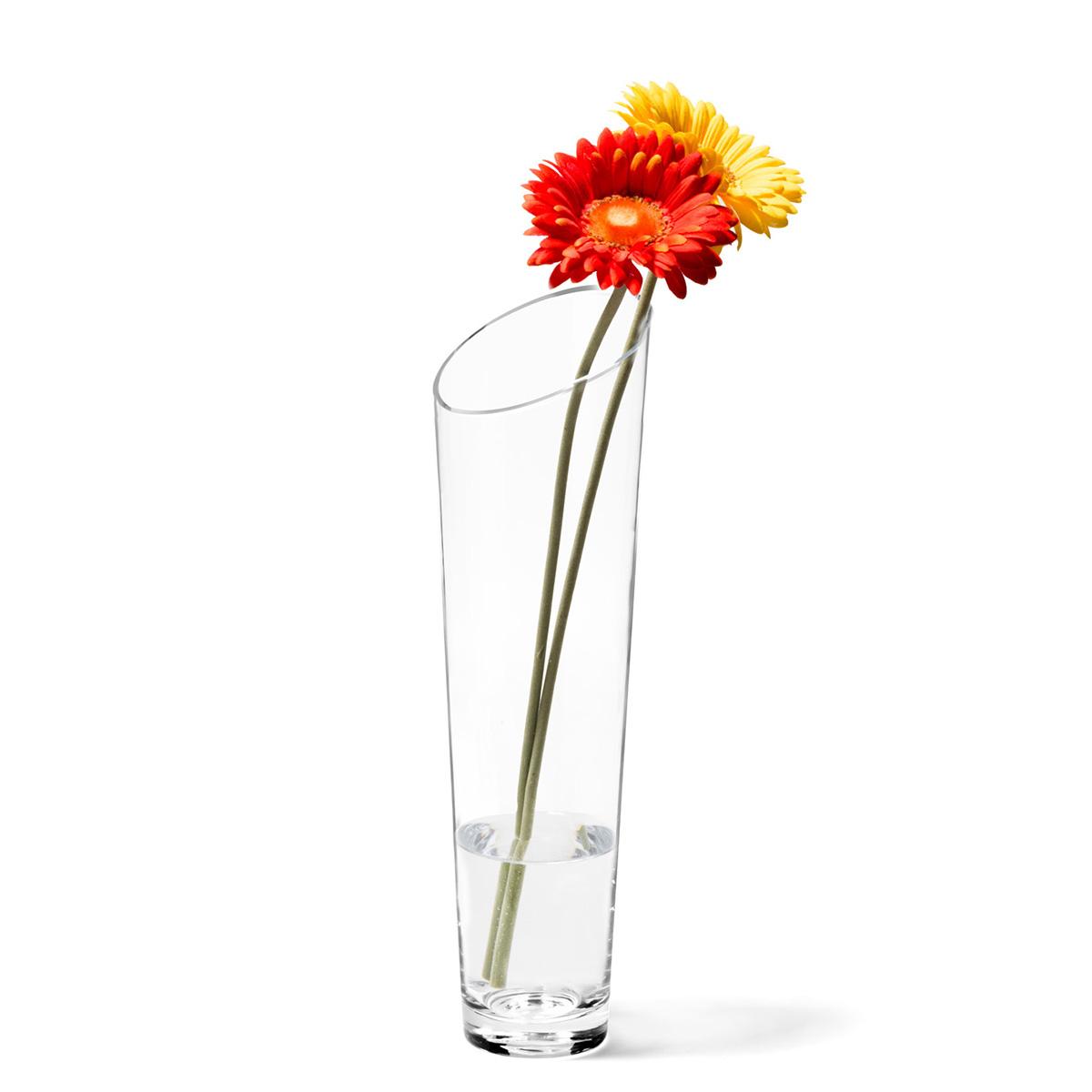 Staklena vaza Dynamic 40cm - 12305