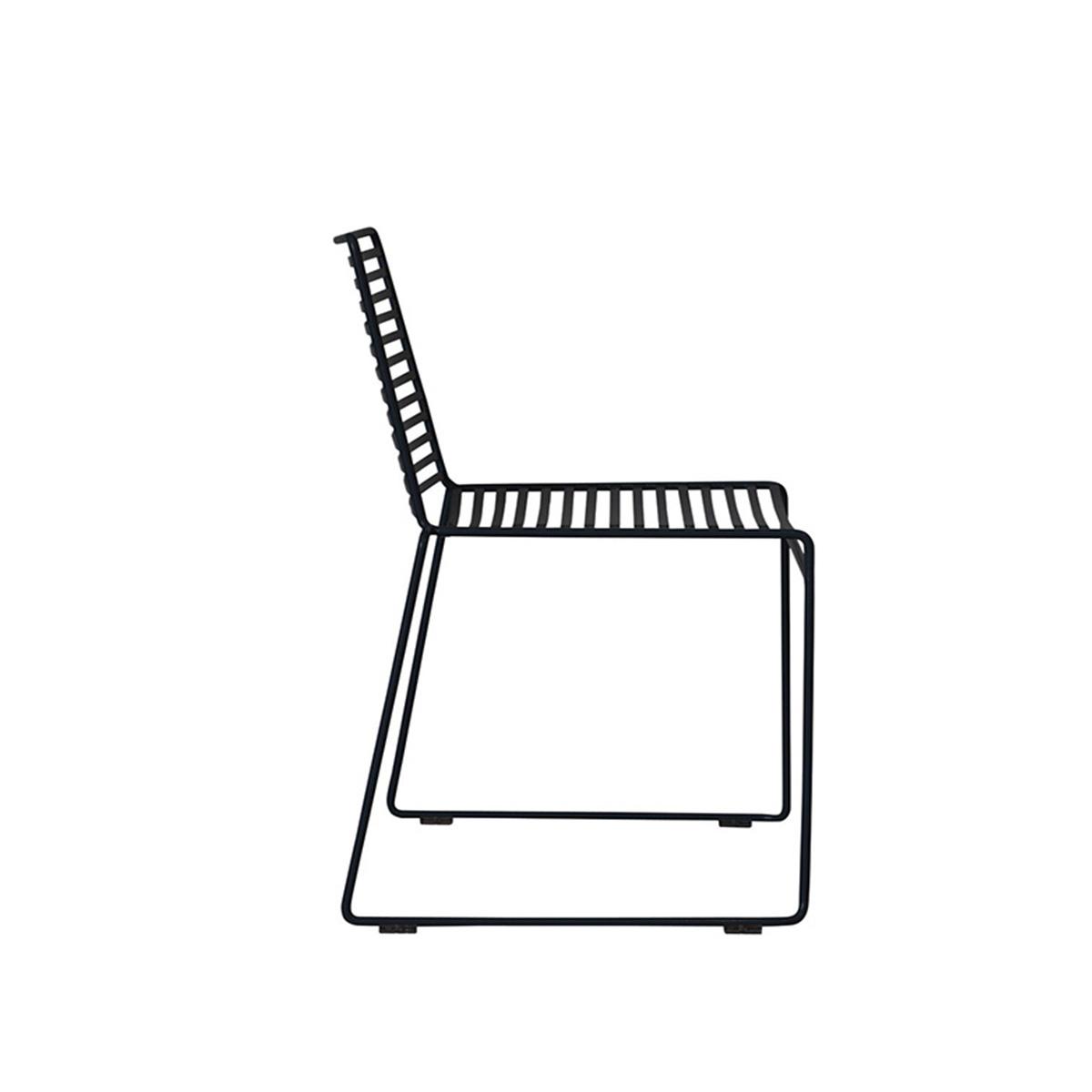 Crna metalna stolica MH-5007A