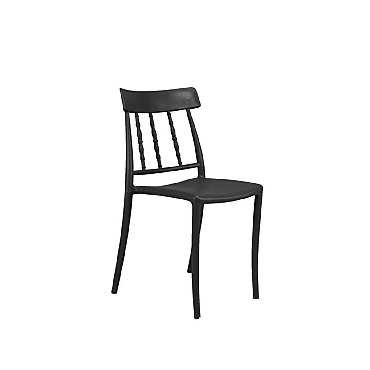Stolica crna  MH-2049