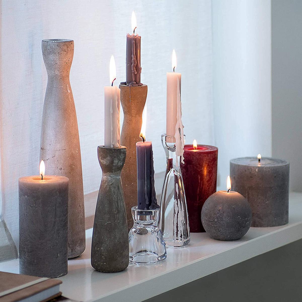 Stakleni svećnjak Milano 32981