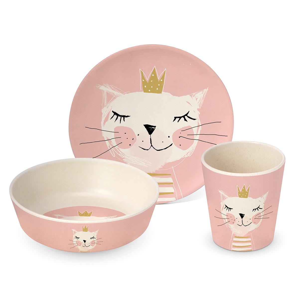 Dečiji set za jelo Happy Cat 604023