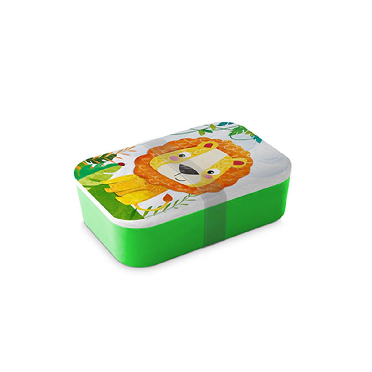Dečija kutija za obrok Happy Lion 603670
