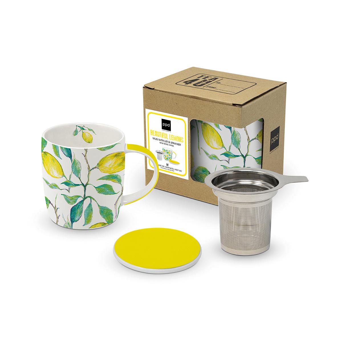 Šolja sa difuzorom BEAUTIFUL Lemons 603956