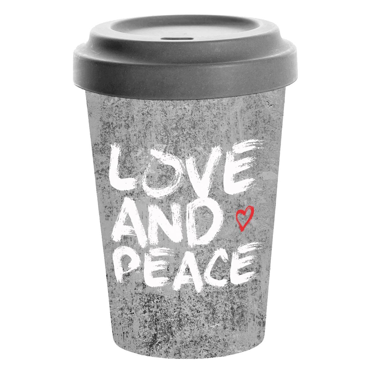 Šolja za poneti LOVE AND PEACE 603502