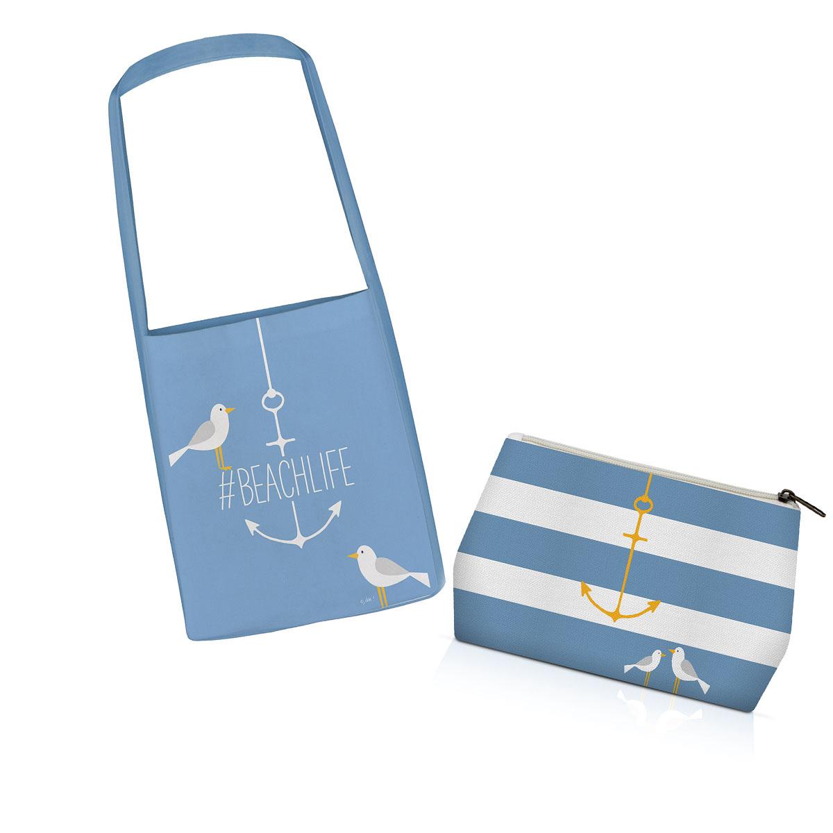 Platnena torba za plažu 604068
