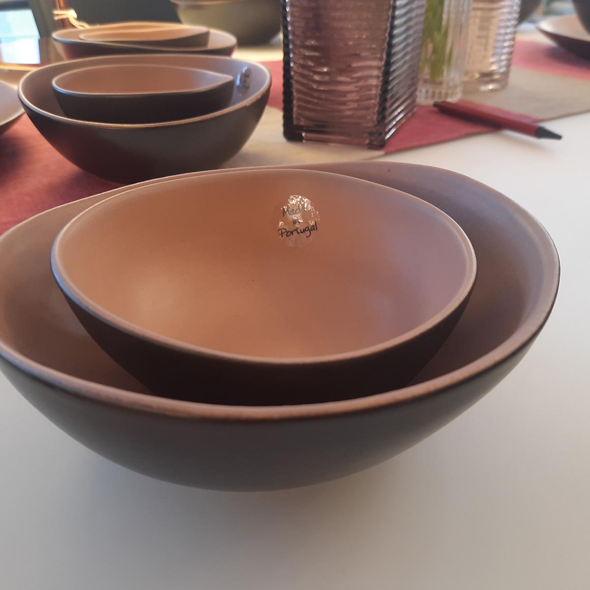 Set keramička činija 825071