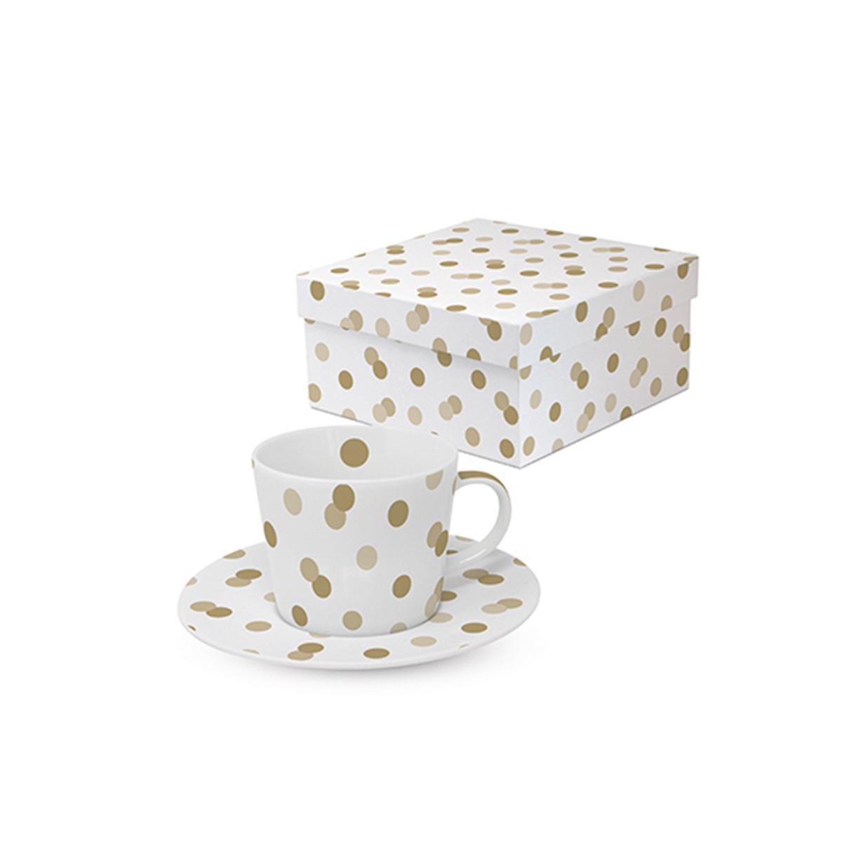 Šoljica za kafu zlatne tufne 603780