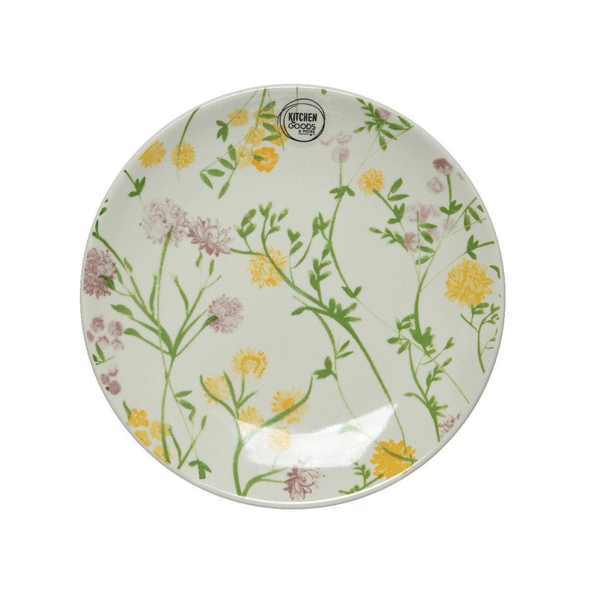 Porcelanski tanjir Flower 22cm 826633