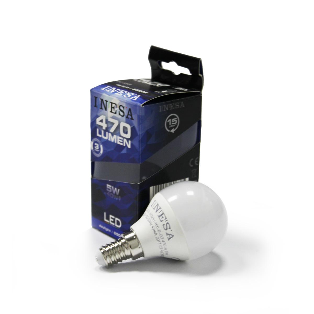 Led sijalica E14 5 W 6500K balon - 60638