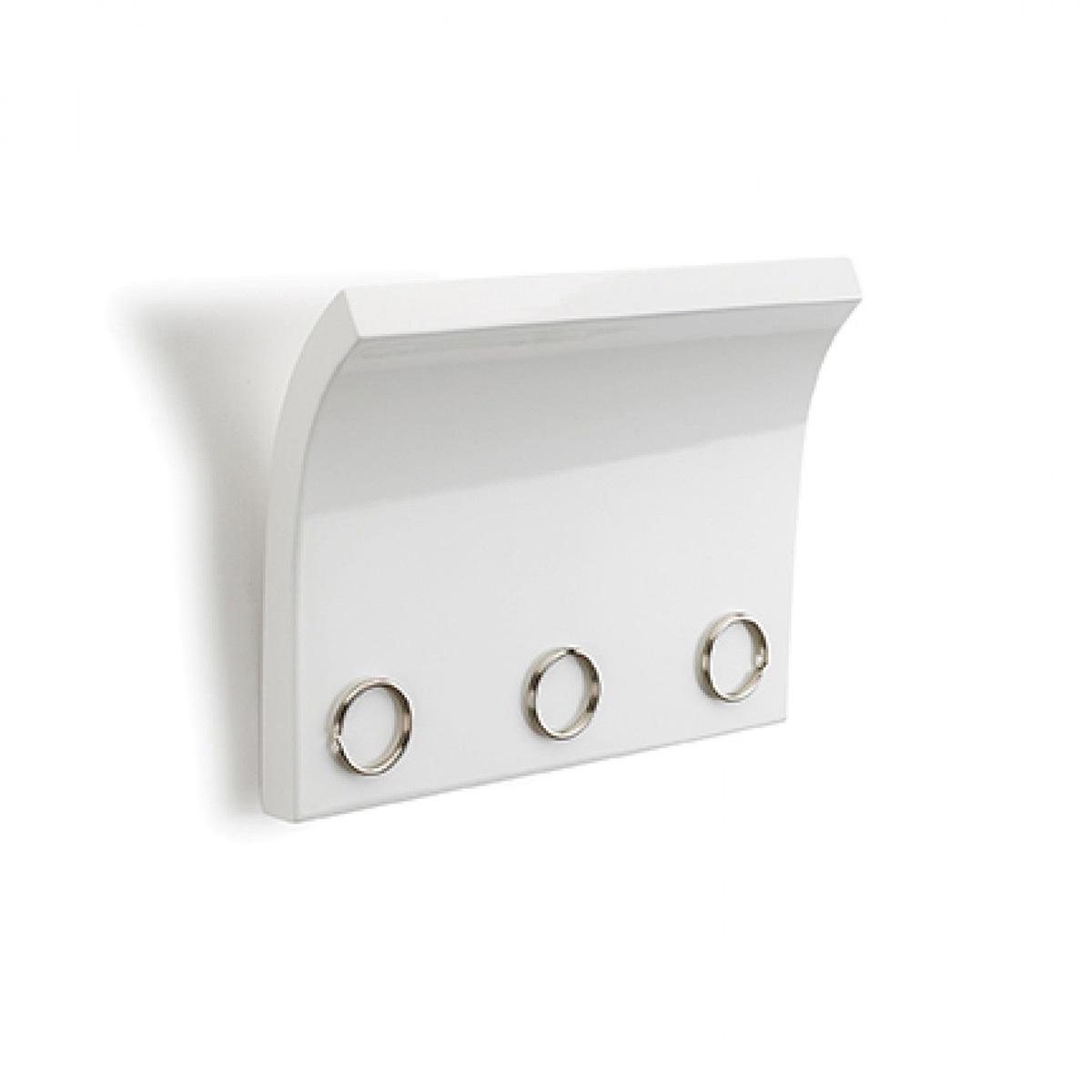 Zidni držač za ključeve 318200-660 beli