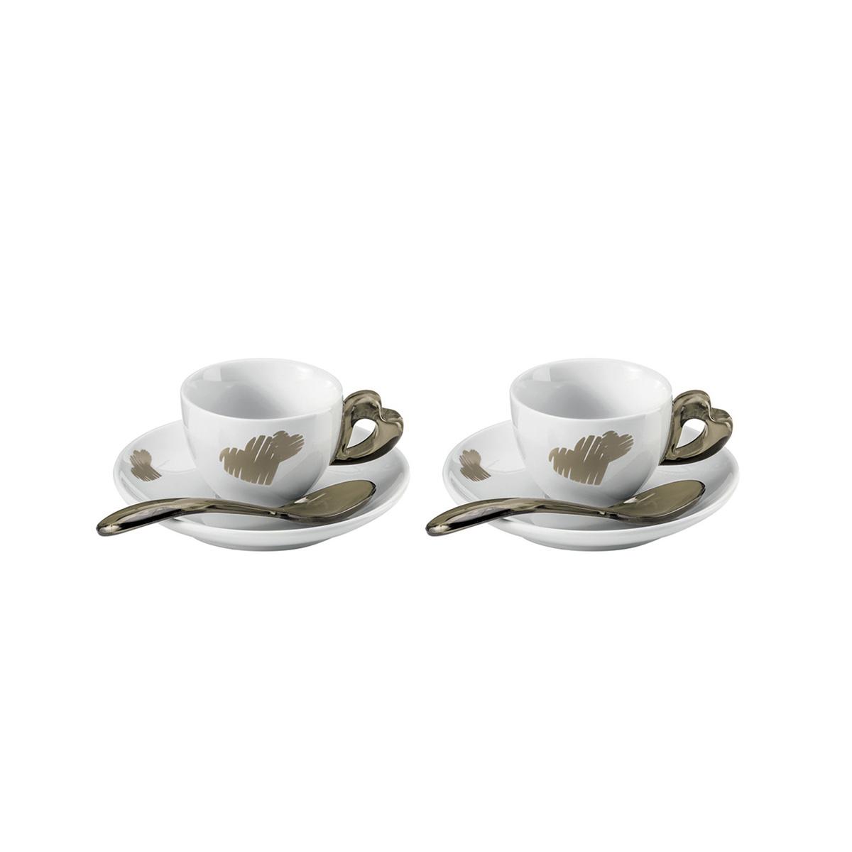 Set šolja za espresso Love 1141.00.39 bež