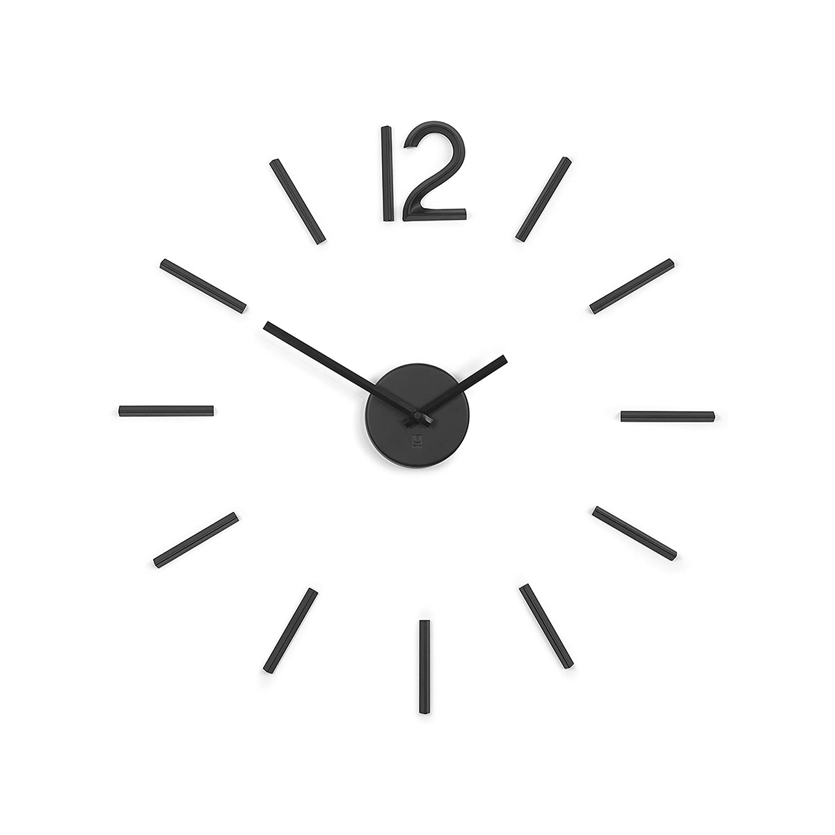 Zidni sat Blink crni 1005400-040