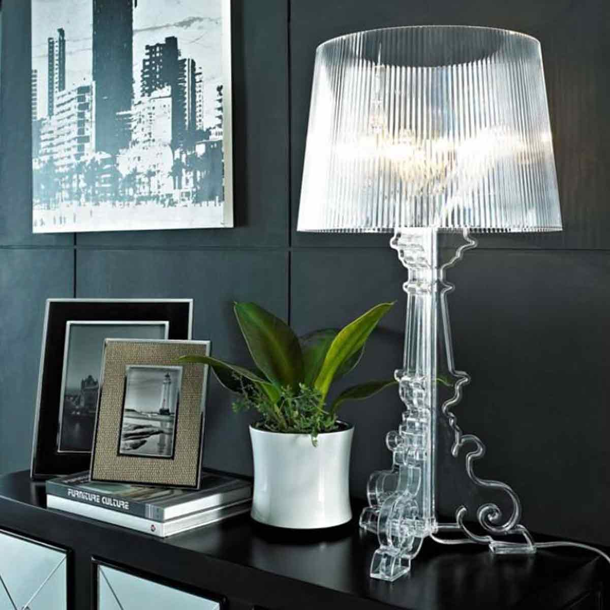 Stona lampa Bourgie kristal 9070/B4