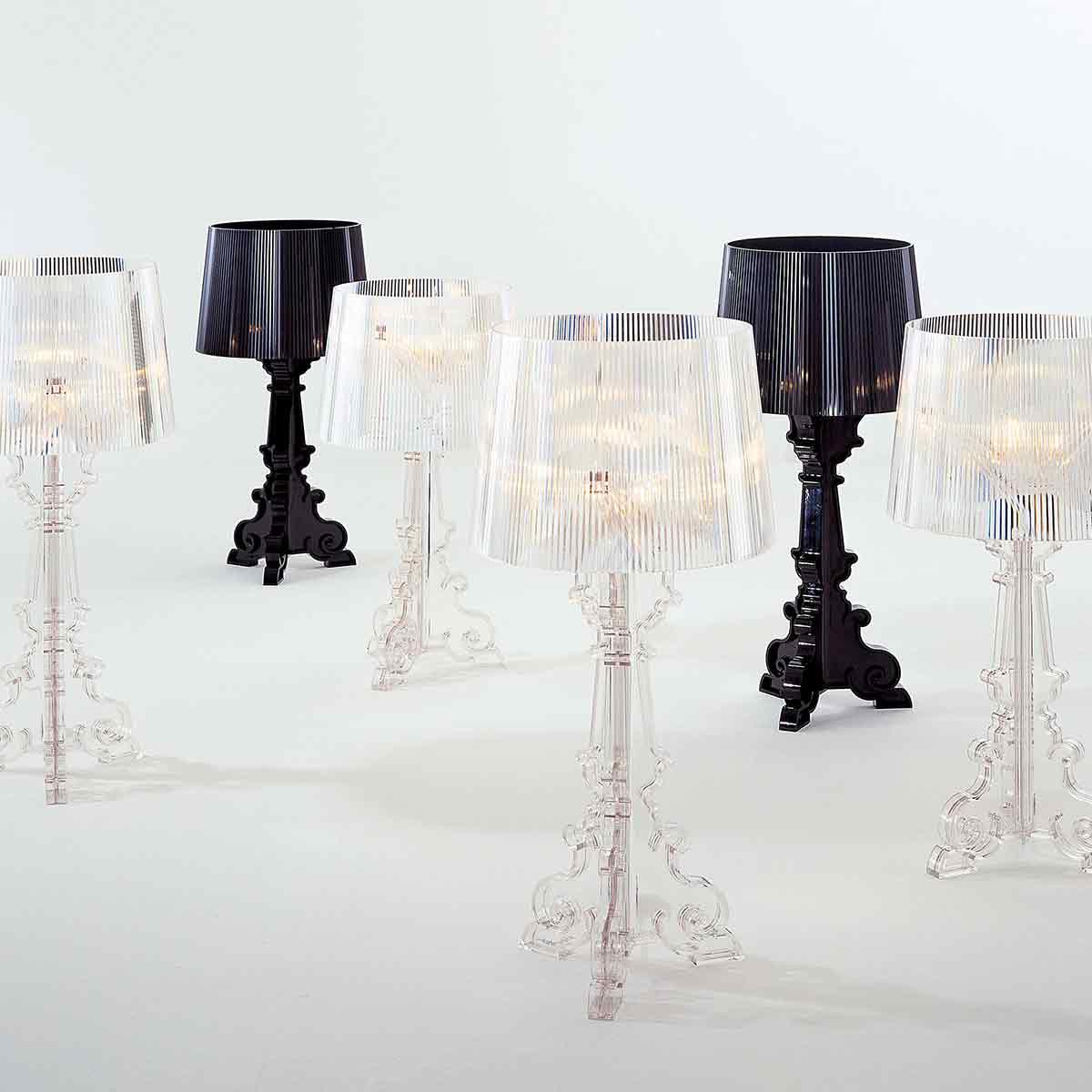 Stona lampa Bourgie crna 9070/Q8