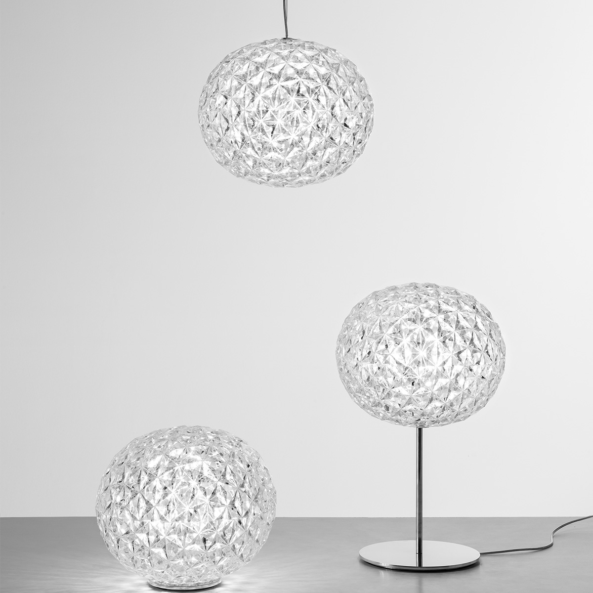 Led Stona lampa PLANET - 9385/B4