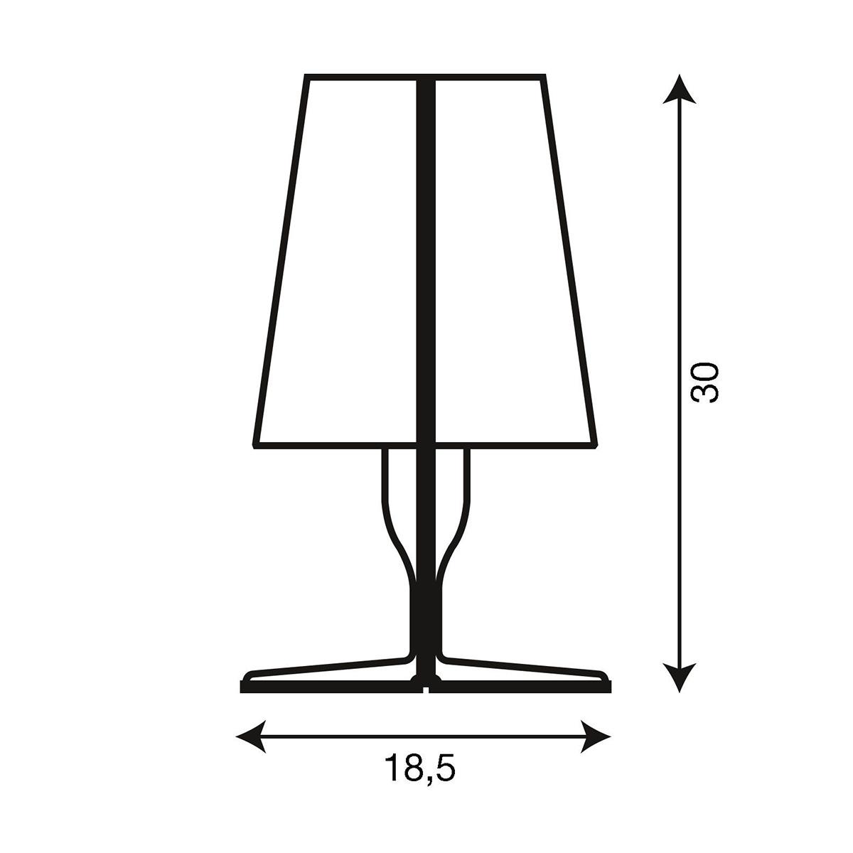 Stona lampa TAKE crna 9050/Q8