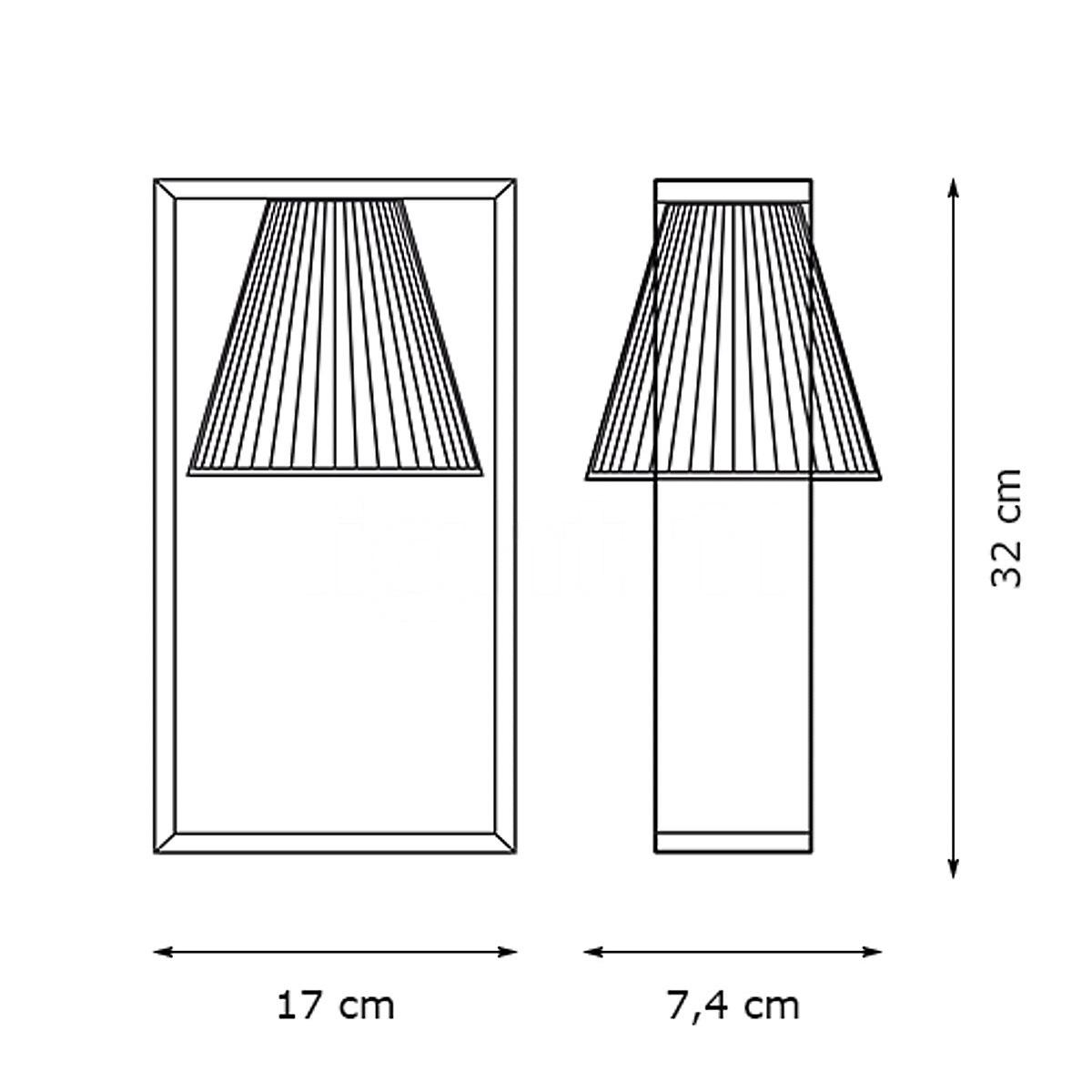 Stona lampa LIGHT AIR plava 9110/AZ
