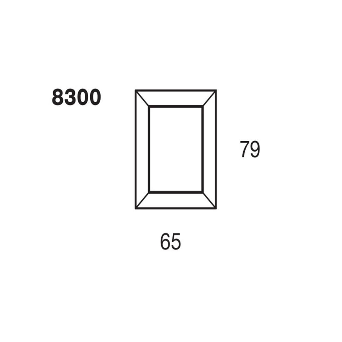 Ogledalo Francois Ghost 8300/V4 ljubičasto