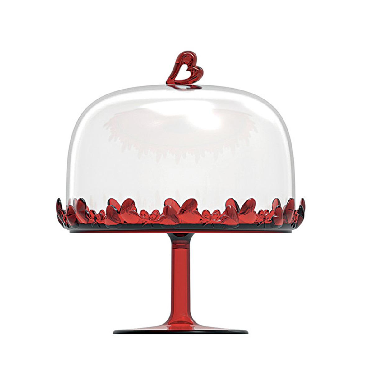 Činija za kolače LOVE 1155.01.65 crvena