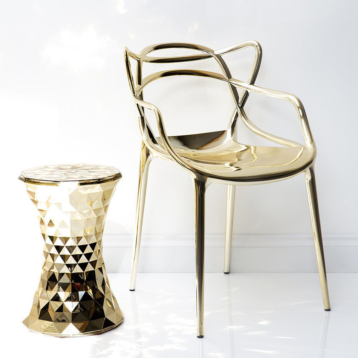 Stolić-tabure Stone zlatni- 8801/GG
