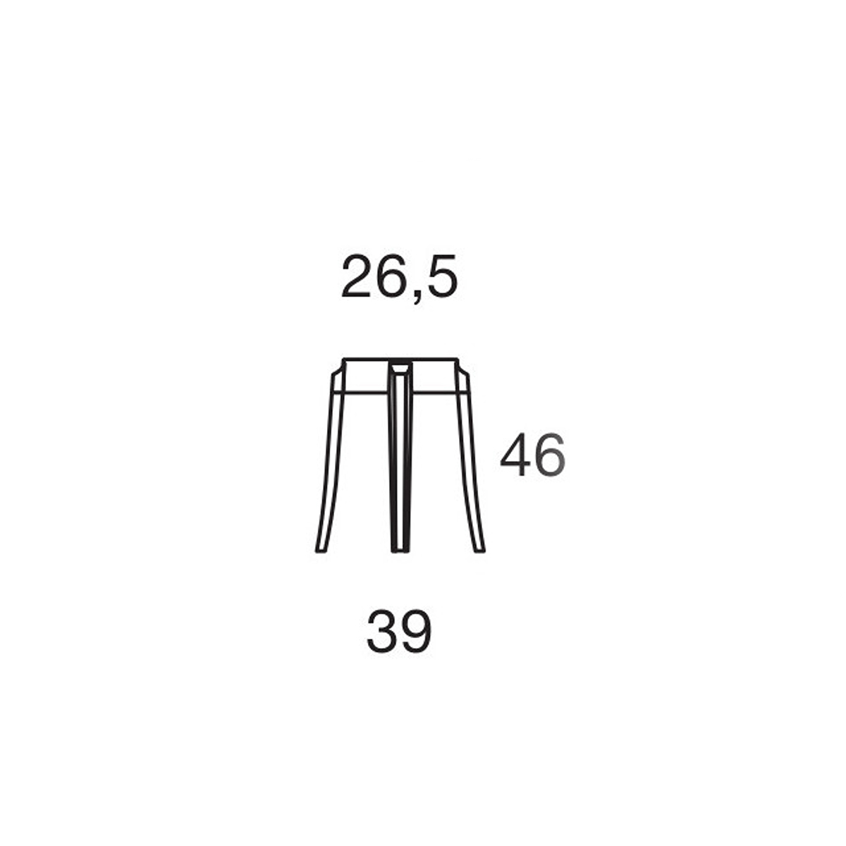 Stolic CHARLES GHOST 4897/B4 kristal