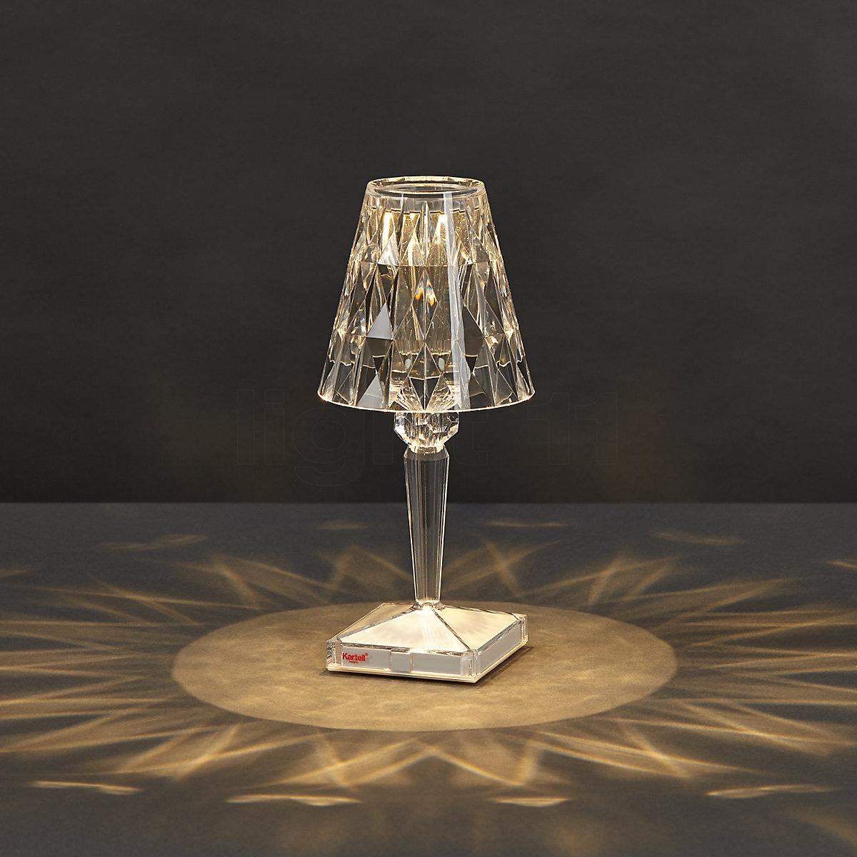 Stona lampa Big Battery 9470/B4 kristal