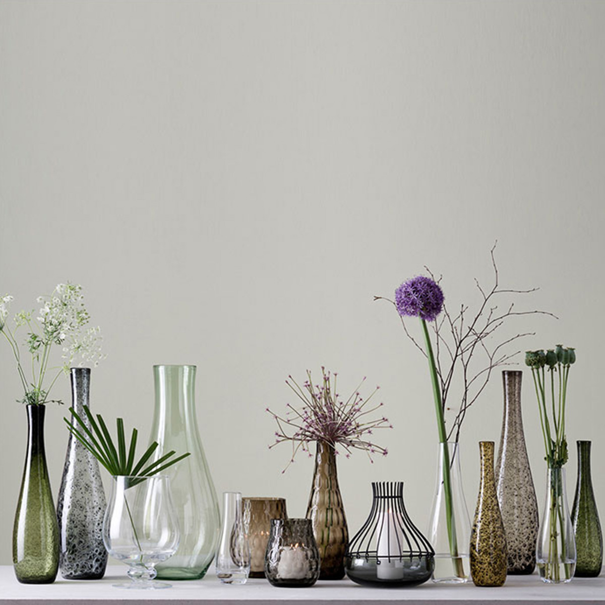 Vaza Giardino 50 braon - 34905