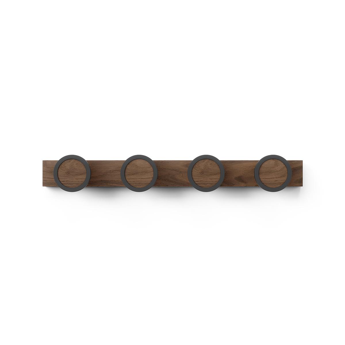 Čiviluk HUB RAIL 1016843-048 braon
