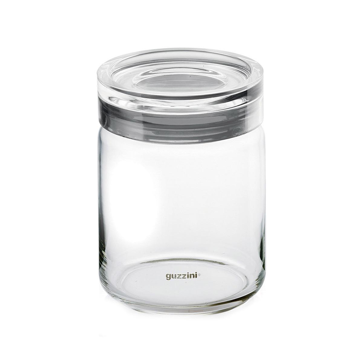 Staklena tegla JAR 2855.16.92 siva
