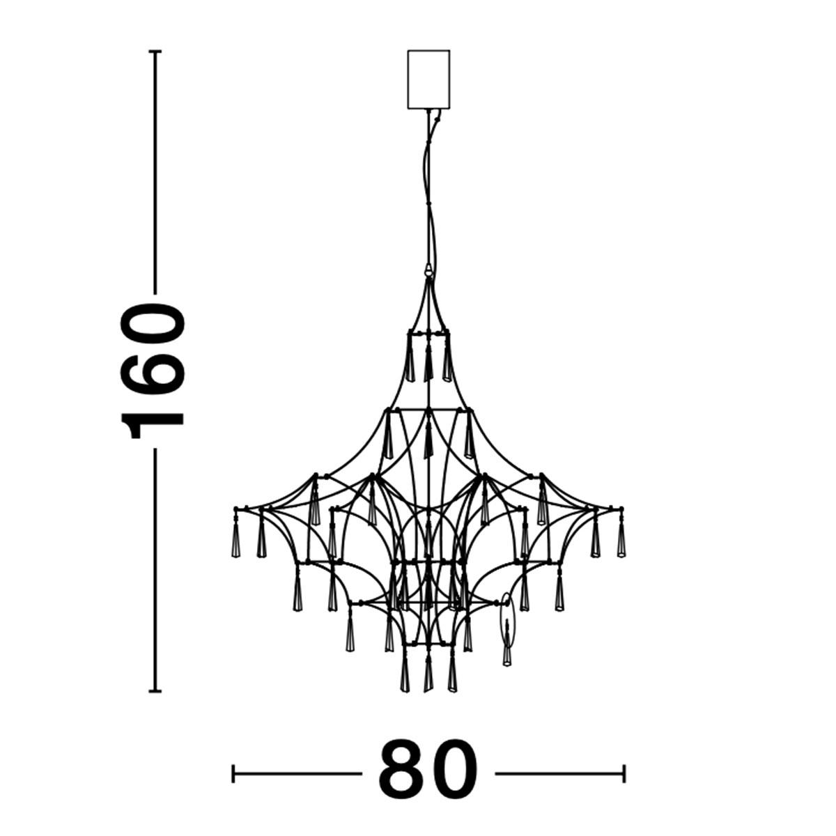 Kristalni luster Goro 9116820