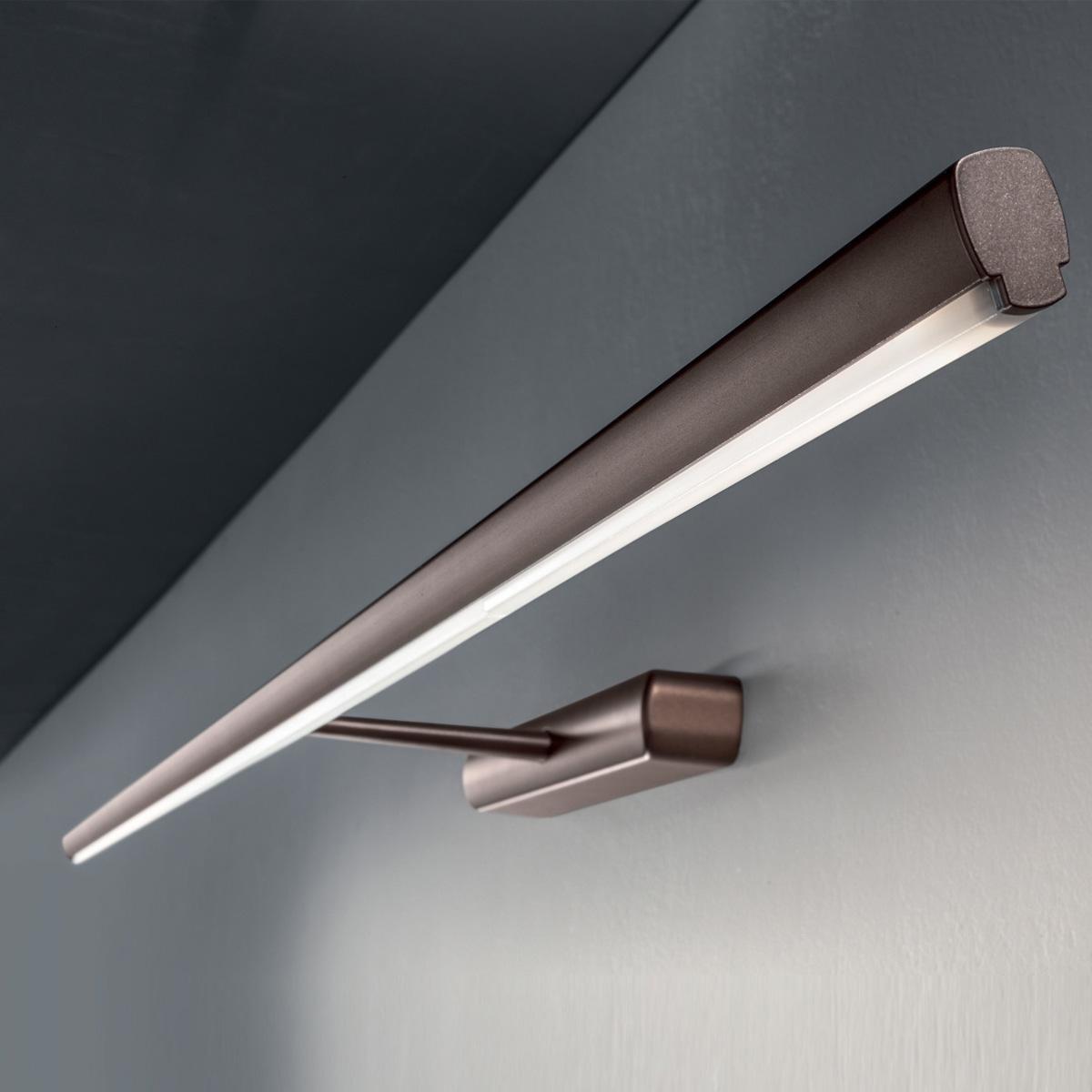 Zidna lampa led Straight tamni hrom Z-8267