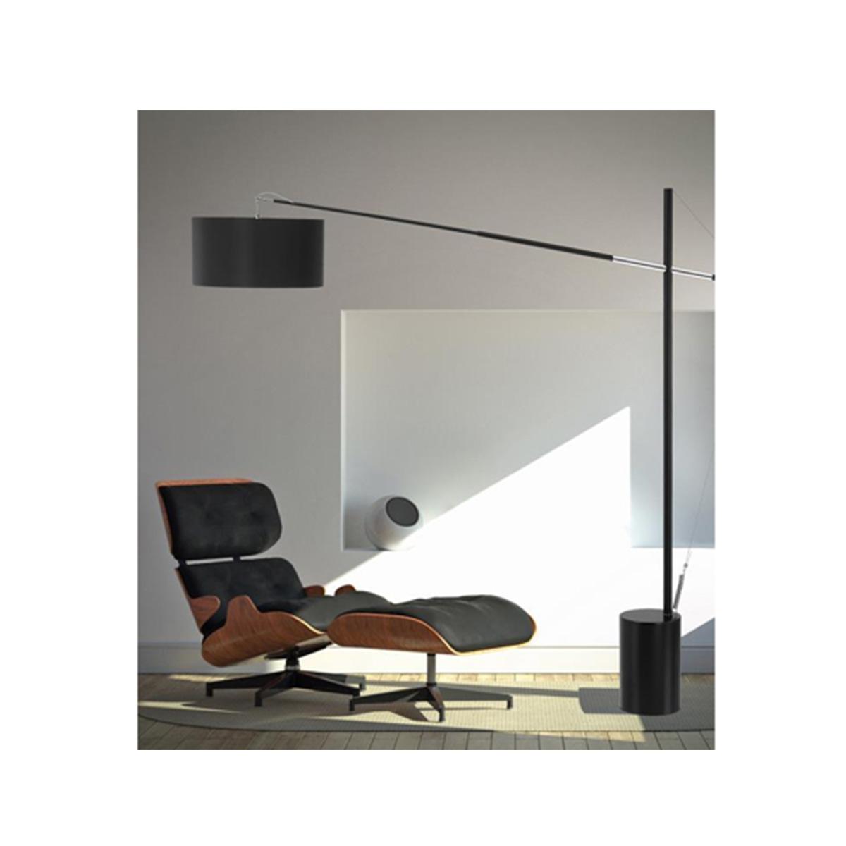 Podna lampa Traccia crna - 41455401