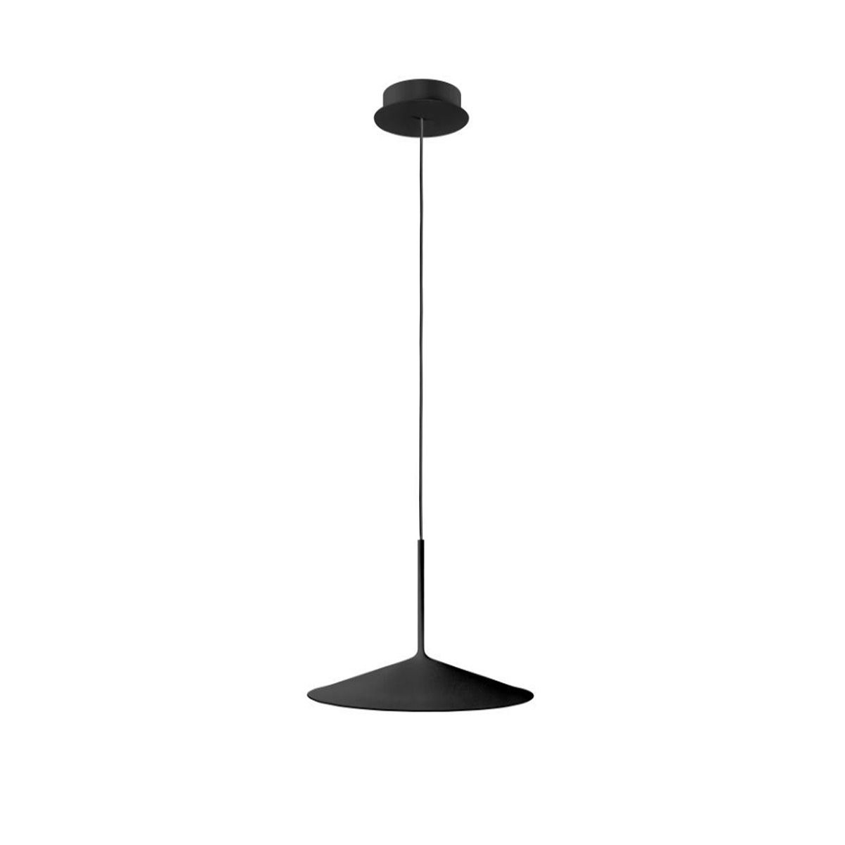 Visilica LED Poe crna 8351