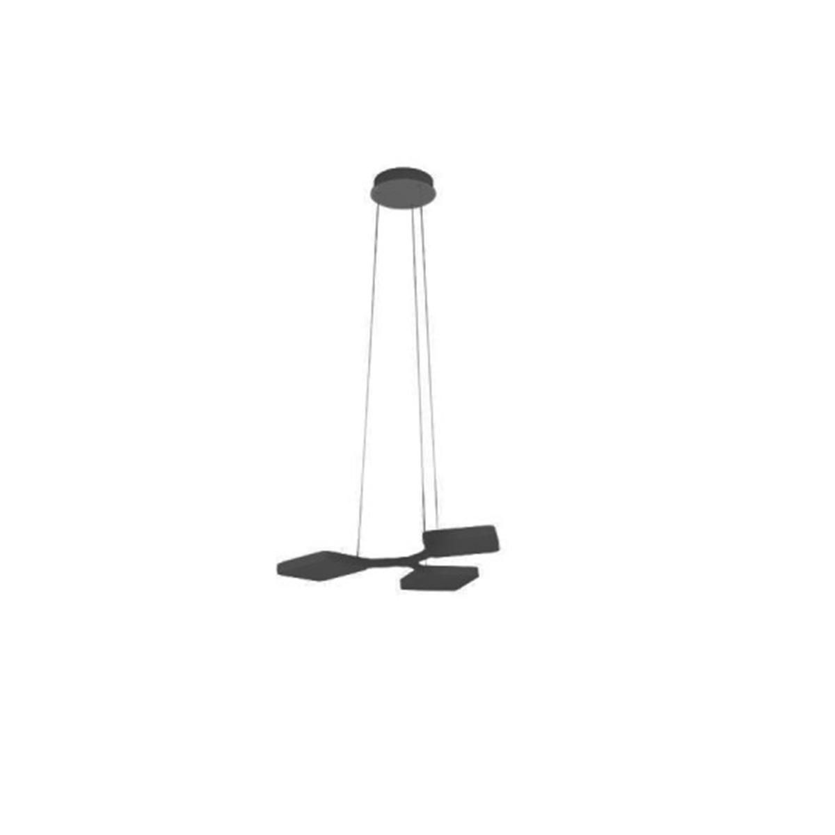 Visilica LED Quad 8117 crna
