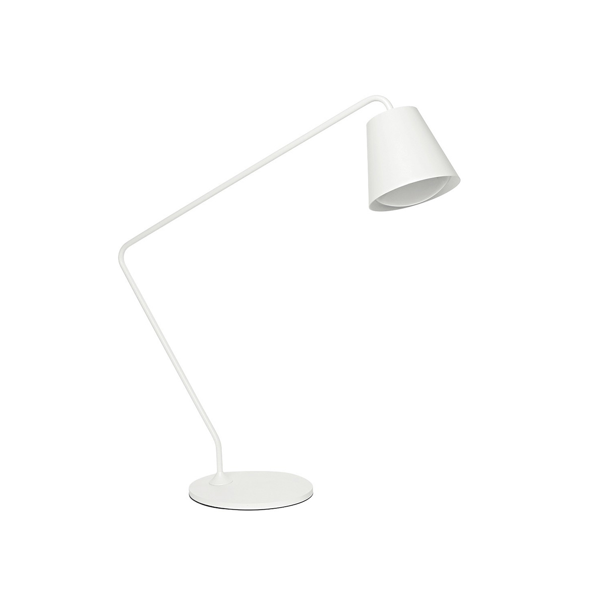 Stona lampa Conus S-7281 bela