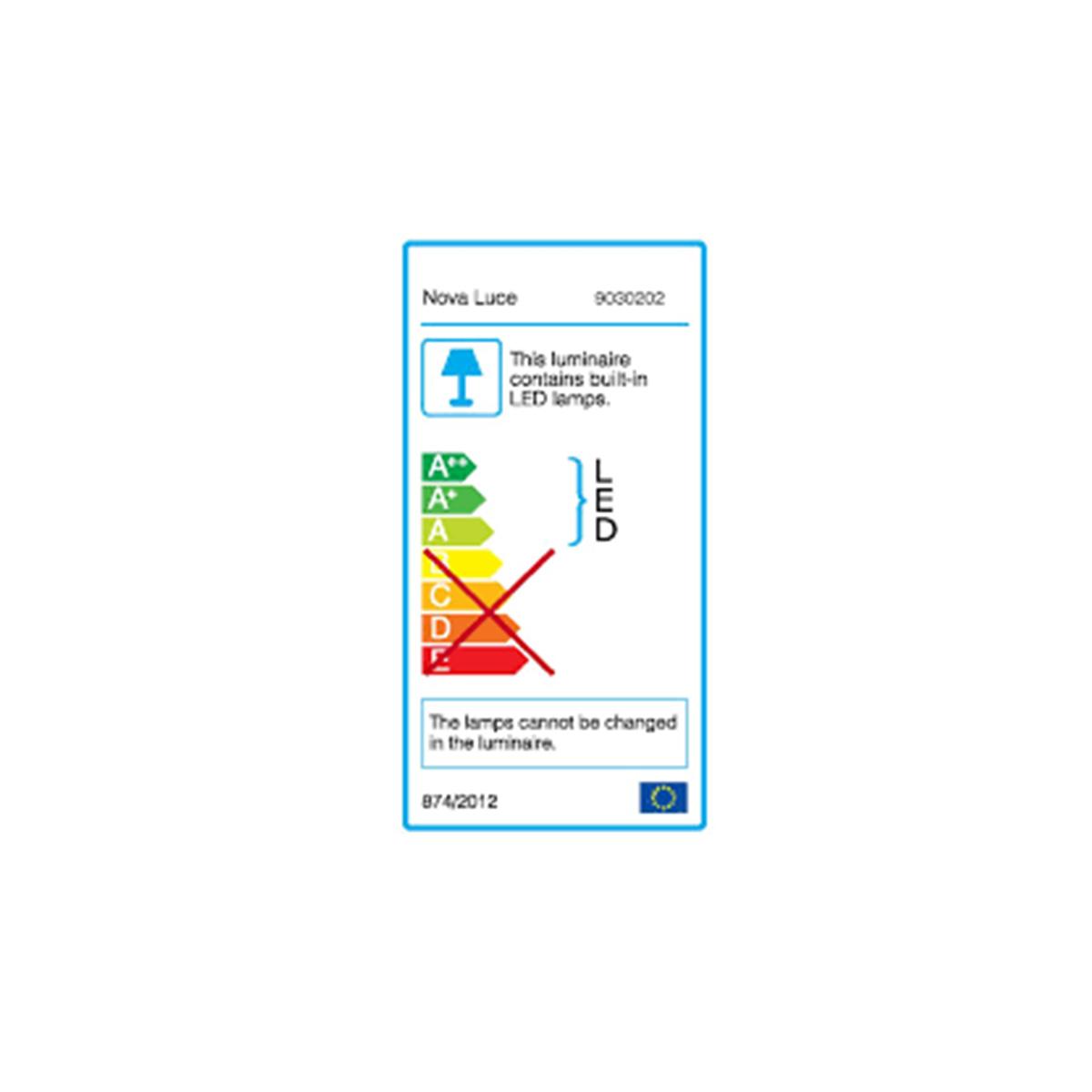 Zidna lampa Led CLIP  crna- 9030202