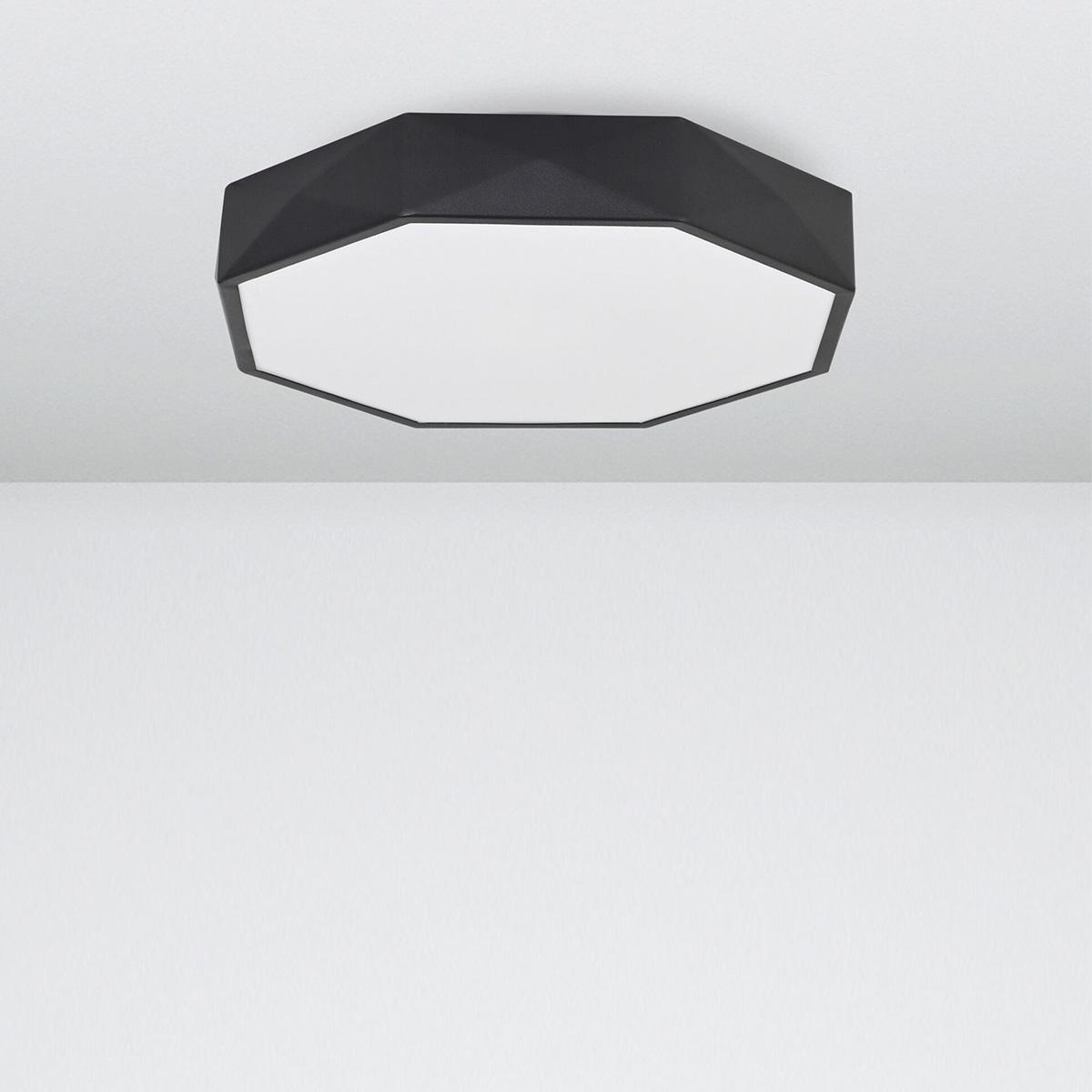 Led plafonjera Eben 9001491 crna