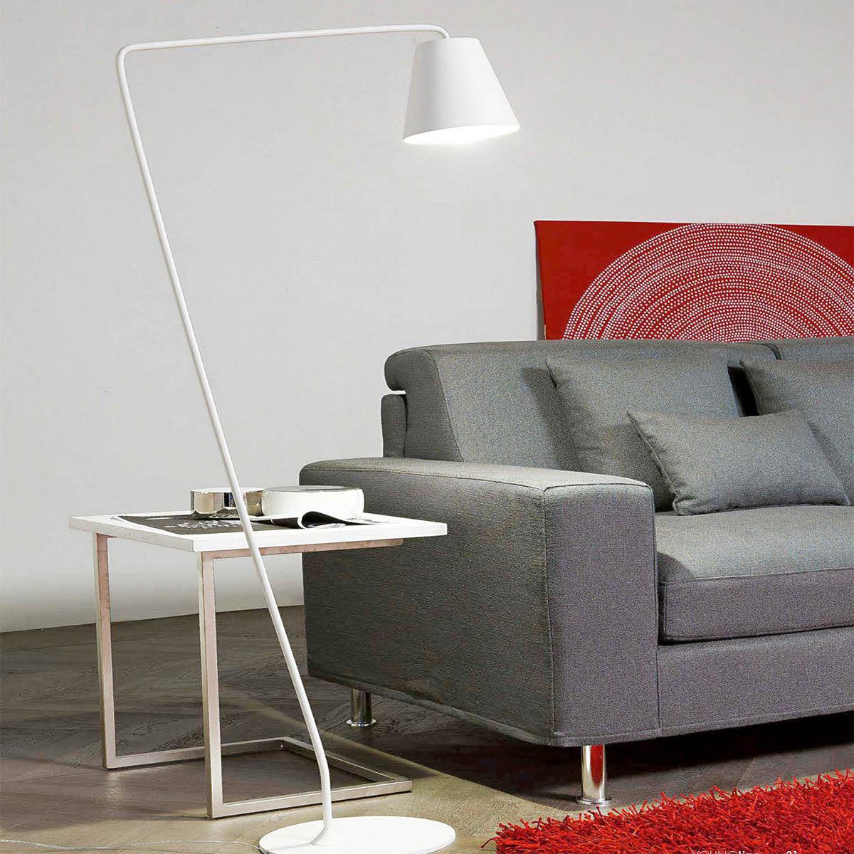 Podna lampa CONUS 7284 bela