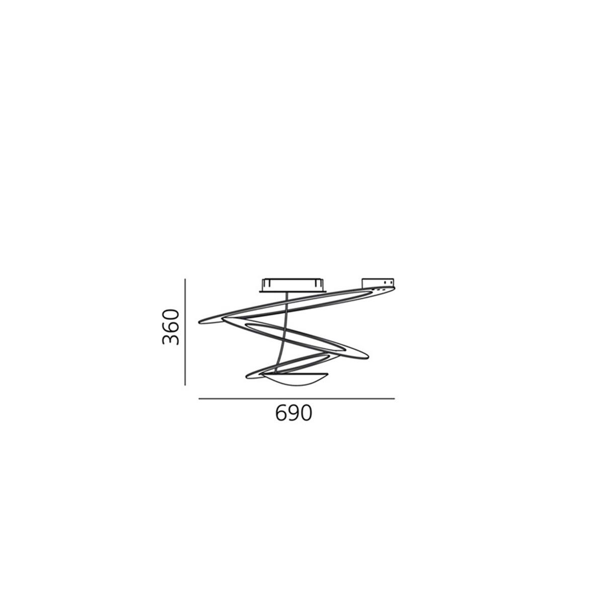 Pirce  Mini -plafonjera 1247010A