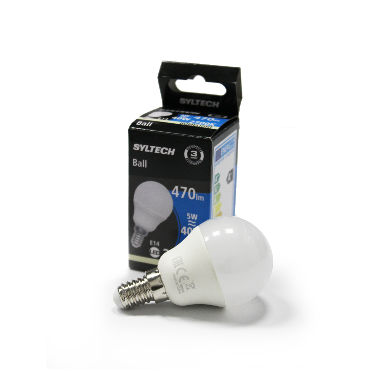 Led sijalica E14 5W 2700K balon - 7261001