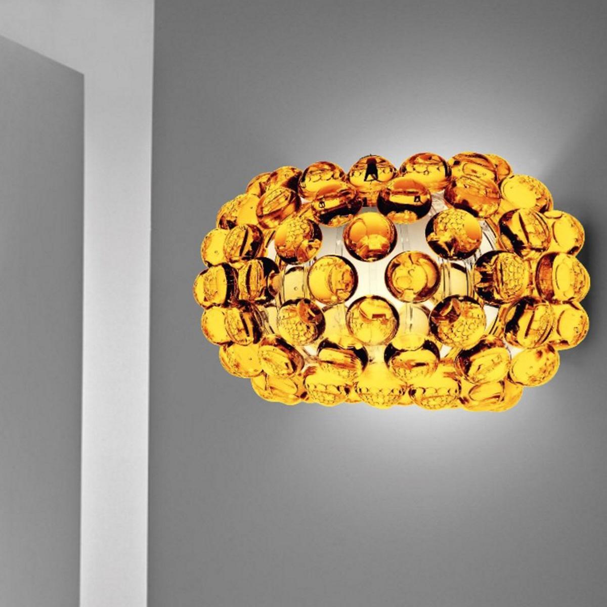ZIDNA LAMPA CABOCHE 138025 52 žuta