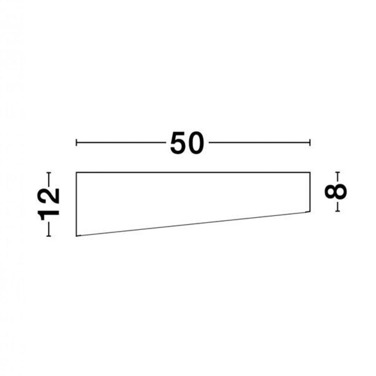 Led plafonjera Maggio  9111261 crna