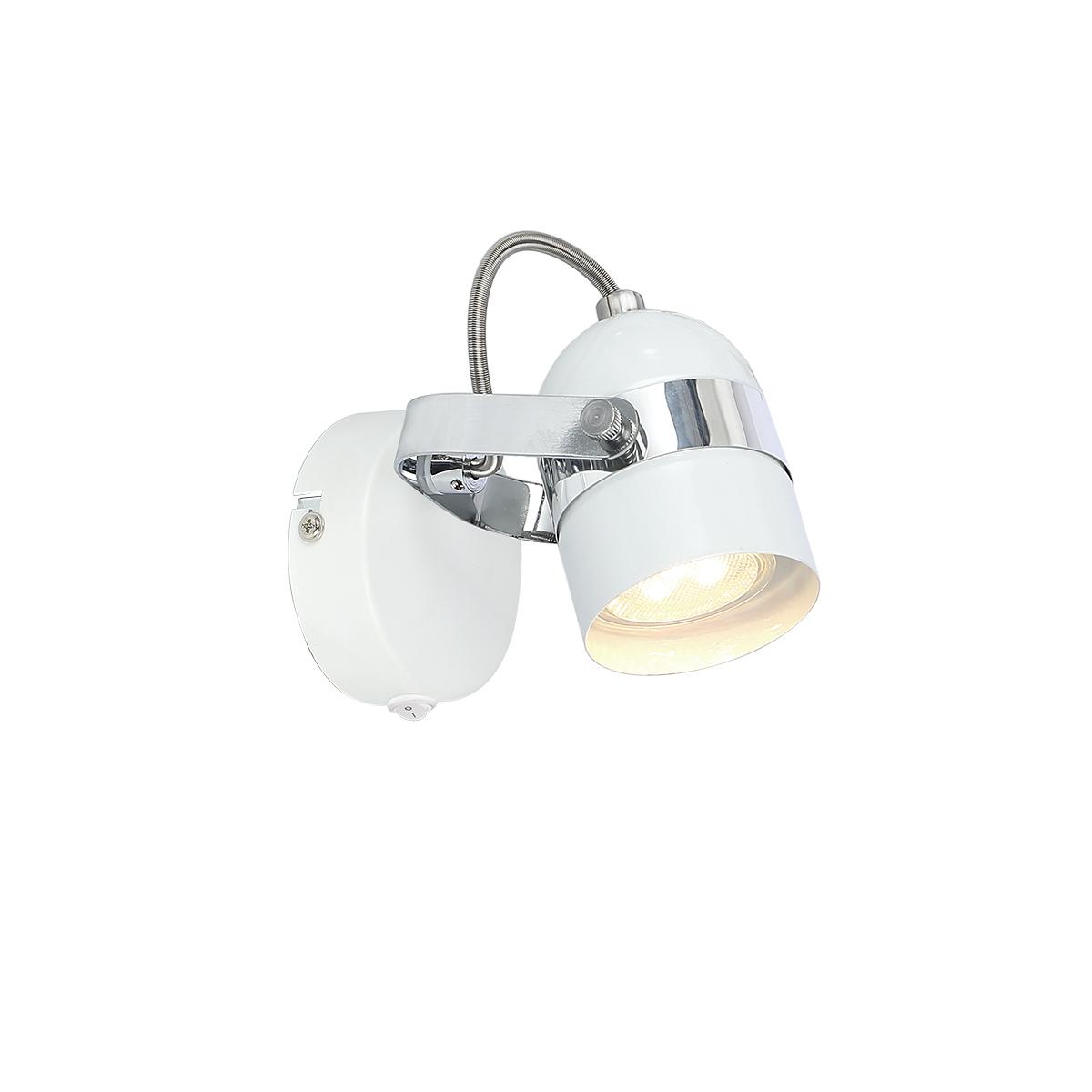 Spot lampa Alex W1 6602055 bela