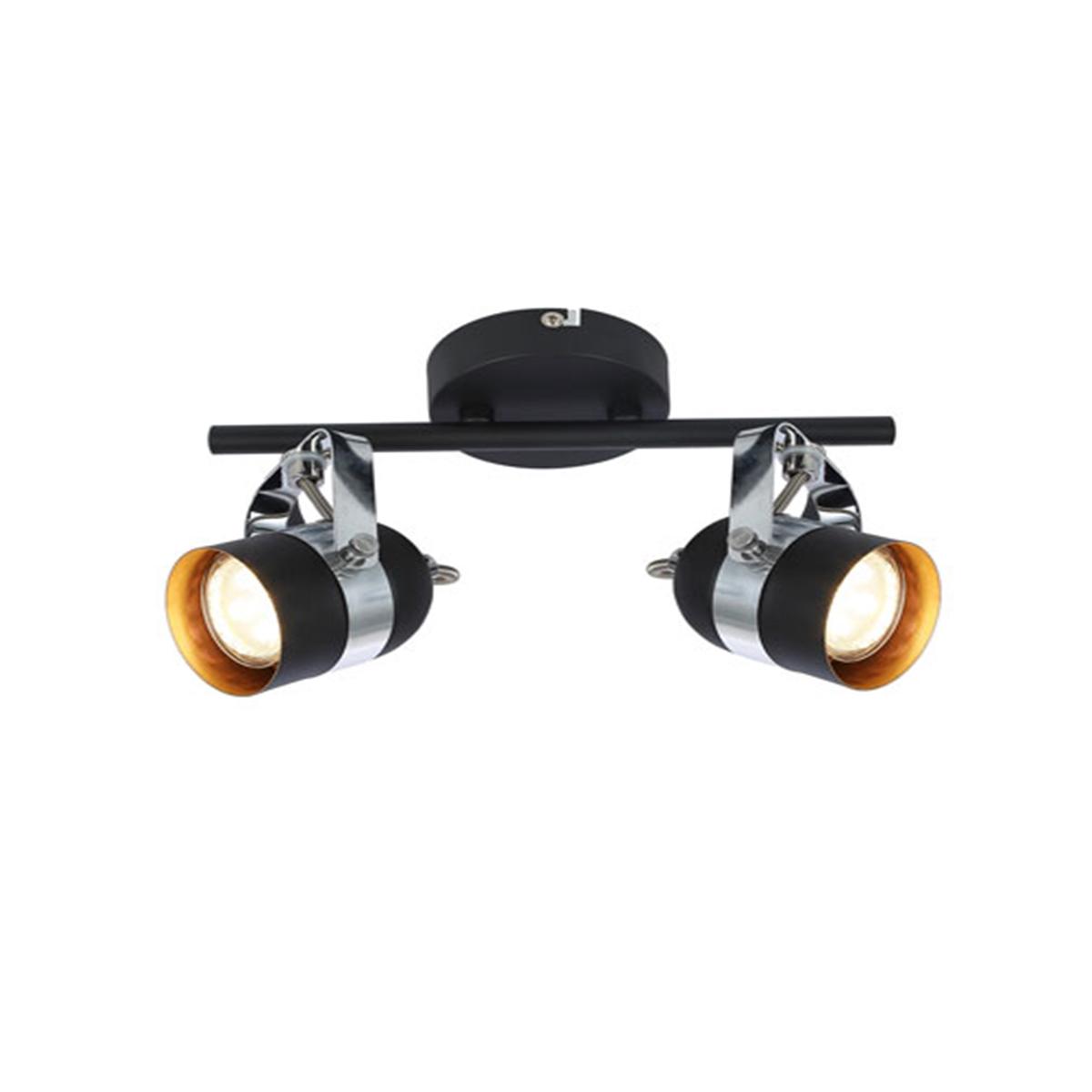 Spot lampa Alex W2 6602052 crna