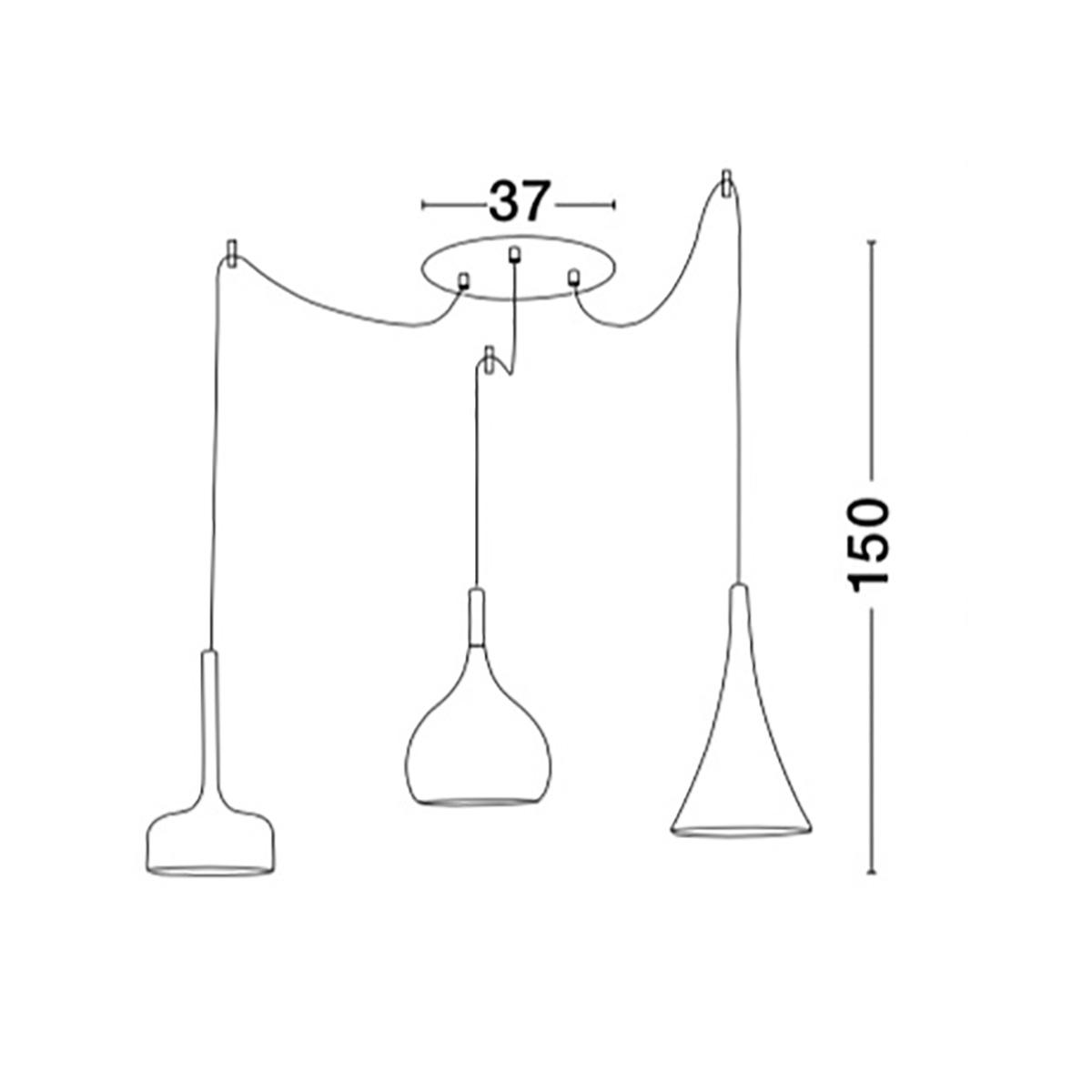 LED visilica 1.0020-V3