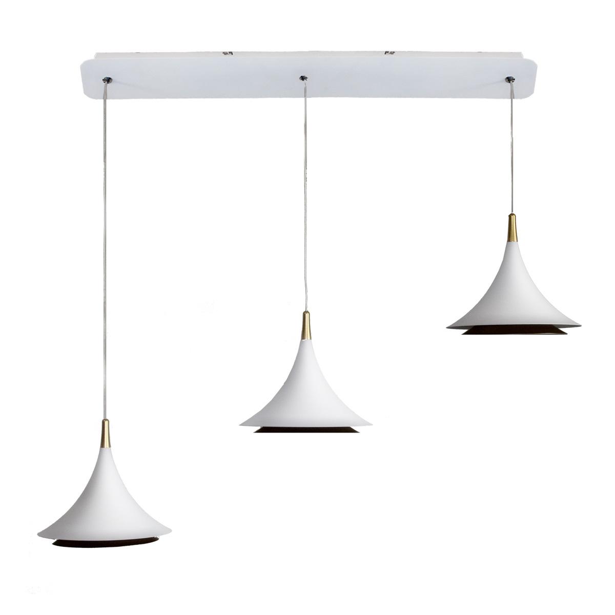 LED visilica White na šini 1.0034-V3
