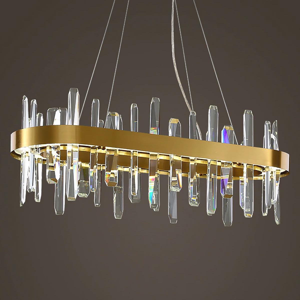 LED kristalni luster 1.0140- L 800