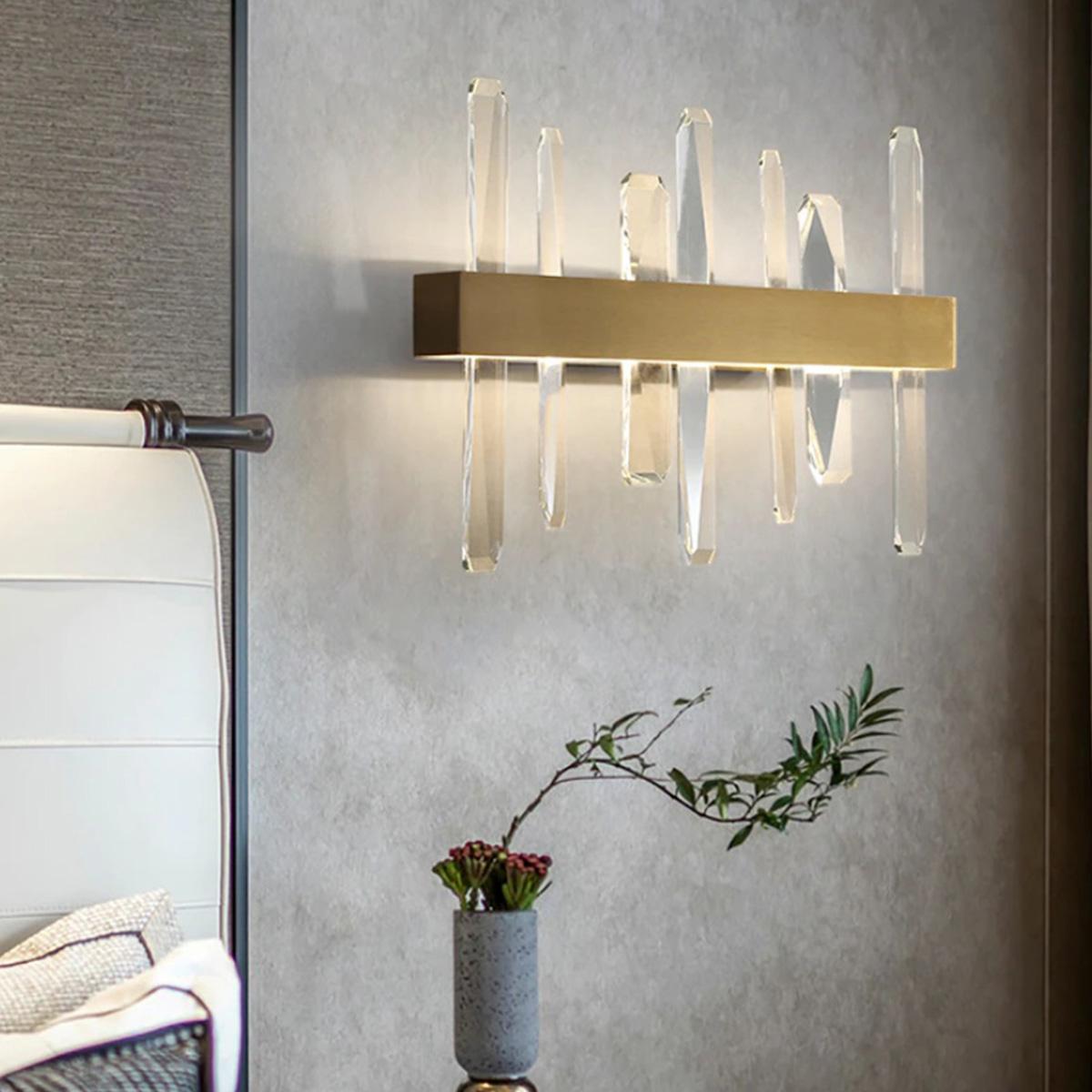 Zidna lampa kristal LED 1.0144- Z